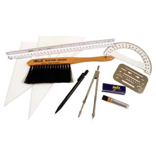 drawing pencils helix drafting starter kit professional compass