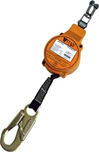 Miller Titan by Honeywell TFL-2/11FT Fall Limiter with Stainless Steel Swivel Shackle
