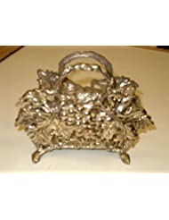 Godinger Paul Revere Silver Plated Grapevine Napkin Holder by Paul+Revere