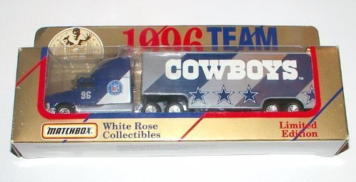 2Dallas Cowboys 1996 NFL Semi Diecast Tractor Trailer Truck Collectible Limited Edition Football Team Car By WhiteRose Matchbox by 2Dallas Cowboys bestellen