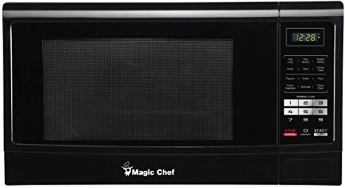 Magic Chef MCM1611B 1100W Microwave Oven, 1.6 cu. ft., Black (Very Small Microwave Oven compare prices)