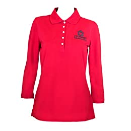 Pedigree Foundation ladies knit shirt (L, Real Red)