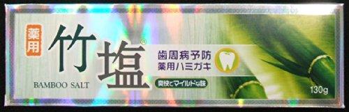 トイレタリーJ 薬用竹塩ハミガキ 箱 130g