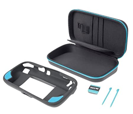 Official Gamer Essentials Kit for Wii U - Blue