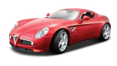 BBurago 18-11021 - Diamond Collezione 1:18 Alfa Romeo 8C Competizione 2007 rot