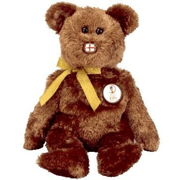 TY Beanie Baby - CHAMPION the FIFA Bear ( England )
