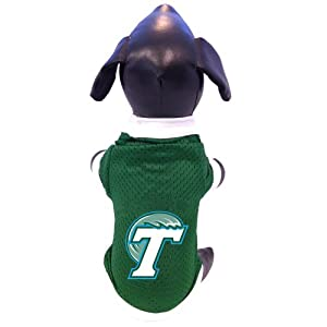 Buy NCAA Tulane Green Wave Athletic Mesh Dog Jersey, X-Large by All Star Dogs