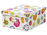 """Zeller 17852 Aufbewahrungsbox """"Kids""""; Pappe 31 x 26 x 14"""