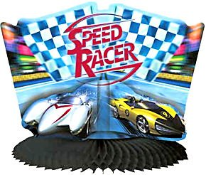 Speed Racer Centerpiece - 1
