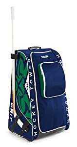Grit Inc. Foldable 33-Inch Green Blue Vancouver Hockey Tower Bag. HTSE-O33-VAN by Grit Inc.