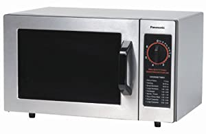 Panasonic 1000W 0.8 Cu. Ft. Commercial Microwave Oven NE-1022F Stainless