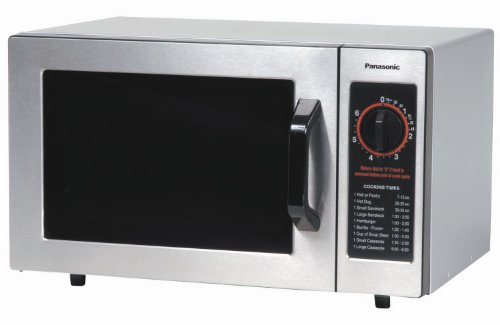 Panasonic NE-1024F 1000-Watt Stainless Steel Commercial Microwave