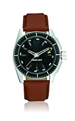 Fastrack Black Magic Analog Black Dial Mens Watch - NE3089SL05