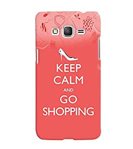 Fuson 3D Printed Quotes Designer back case cover for Samsung Galaxy Grand Prime G530H - D4566