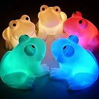 Frog Shape 7 Color Change Decoration LED Night Lamp from Viskey