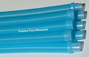 "Kreepy Krauly or Baracuda G3 G4 48"" Pool Cleaner Hose Aqua 8-PACK"