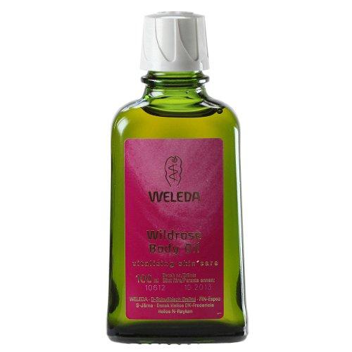 凑单品:WELEDA 维蕾德 Wild Rose 野玫瑰护体油 100ml $16.55