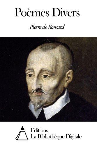 Pierre de Ronsard - Poèmes Divers
