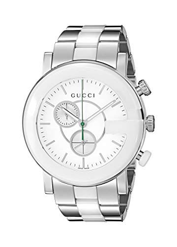 "Gucci Women's YA101345 ""G Chrono"" Stainless Steel Watch"