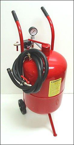 20 Gallon High Pressure Sand Blaster Blastering Abrasive Media Tank