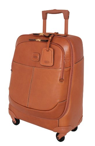 Bric's Luggage Life Pelle 21 Inch Carry On Spinner