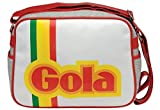 Gola Redford Arcade White Red Grey Mens Womens Unisex Shoulder School Bag