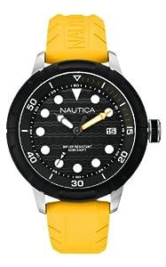 Nautica Men's Quartz Watch A16634G with Rubber Strap