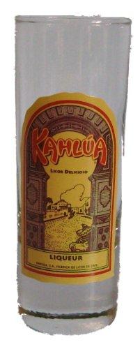 "Kahlua Coffee Liqueur Shot Glass 4"" Tall"
