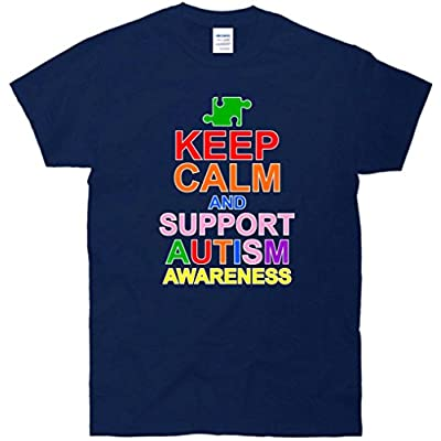 Keep Calm And Support Autism Awareness T-Shirt