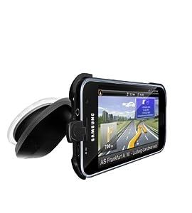 Navigon Design Car Kit (Halteschale, Design-Saugnapfhalter und KFZ-Ladekabel) für Samsung Galaxy S I9000