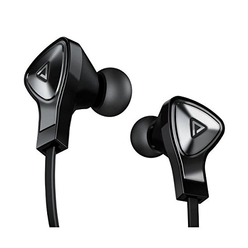 Monster Dna In-Ear Headphones With Mic And Remote Black With Satin Chrome