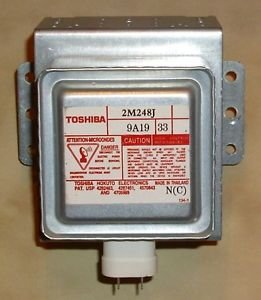 Universal Microwave Magnetron Part Number: Toshiba 2M248J Gs Fits Many Brands Such As (Kenmore Ge Amana Fridgidaire Galaxy Lg Sharp Philips Whirlpool Goldstar Ewave Panasonic Jenn-Air And More
