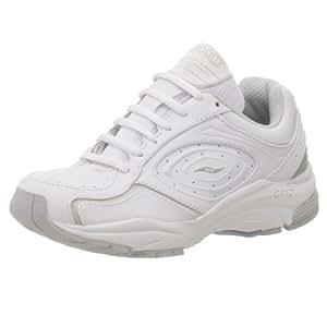 Saucony Women's Grid Integrity Walking Shoe,White/Silver,5 EE