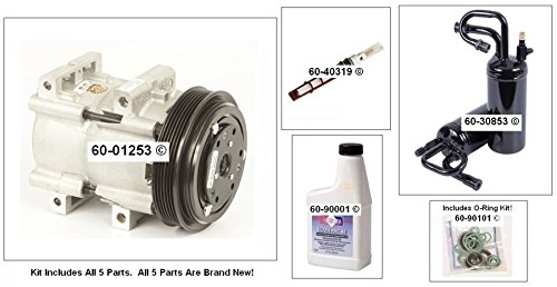 New Ac Compressor & Clutch With Complete A/C Repair Kit For Ford Ranger 2.5L - BuyAutoParts 60-80217RK New (Ac Compressor 2001 Ford Ranger compare prices)