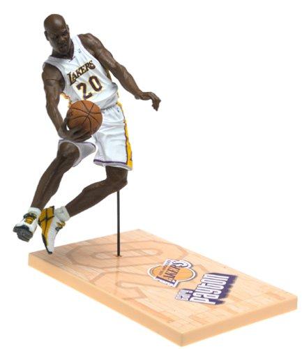 McFarlane's SportsPicks NBA Series #6: Gary Payton in White LA Lakers Uniform (Gary Payton compare prices)