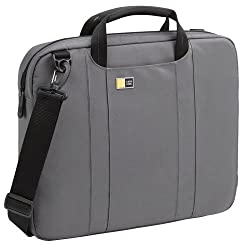 Case Logic - Laptop Attache - Notebook Carrying Case - Gray