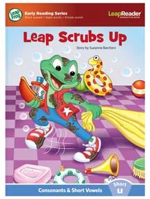 """Leap Scrubs Up"" features short vowel ""u"" sound."
