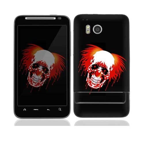 Killa Klown Protective Skin Cover Decal Sticker for HTC Thunderbolt Cell Phone