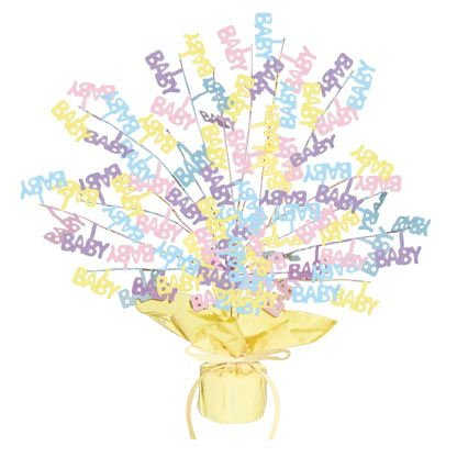 Baby Shower Gleam Centerpiece