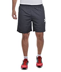 Surly Grey White Polyester Shorts