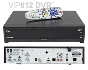 Factory Remanufactured Dish Network 612 Dual Tuner Hd Dvr Receiver