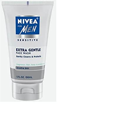 Best Cheap Deal for Nivea for Men Face Cleansing Face Wash, Extra Gentle for Sensitive Skin, 5 Fluid Ounces from Nivea Men - Free 2 Day Shipping Available