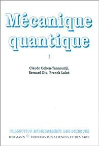 Mecanique quantique cohen