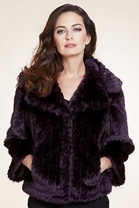Per Una Faux Fur Jacket