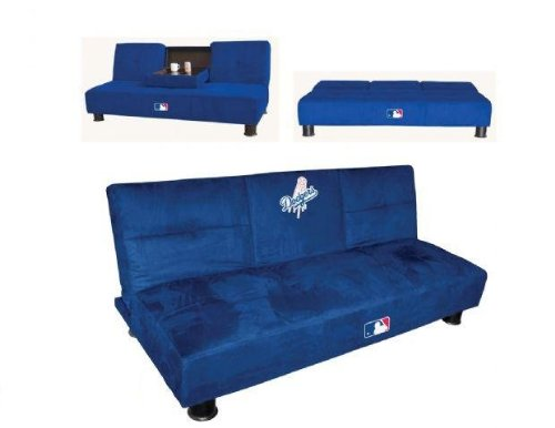 Marvelous Mlb Convertible Sleeper Sofa Mlb Team Los Angeles Dodgers Andrewgaddart Wooden Chair Designs For Living Room Andrewgaddartcom