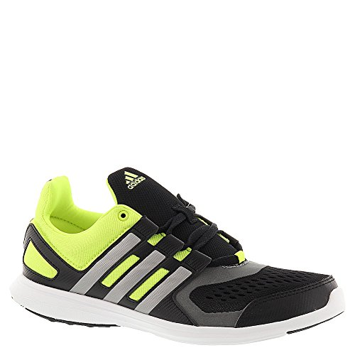 adidas Hyperfast 2.0 Boys' Toddler-Youth Running 1 M US Little Kid Black-Iron-Yellow