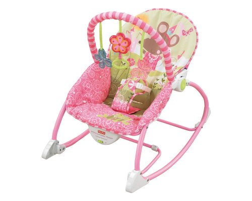 Fisher-Price Infant To Toddler Rocker, Princess Mouse front-109838