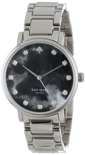Kate Spade New York da donna 1YRU0214 Cinturino inox grigio illeciti civili orologio con quadrante