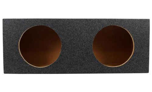 "Rockville Rd10 Dual 10"" 1.0 Cu. Ft. Sealed Subwoofer Enclosure With Grade A 3/4"" Mdf, Made In America Using Only The Highest Quality Materials For The Best Performance And Sound From Your Subs"