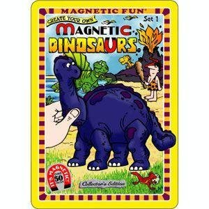 Magnetic Dinosaurs : Set 1